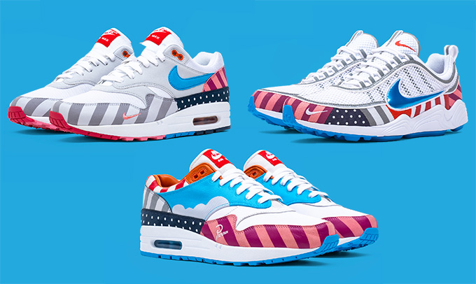 59b0297c211a The Nike x Parra Air Max 1 and Zoom Spiridon Collaboration is Out ...