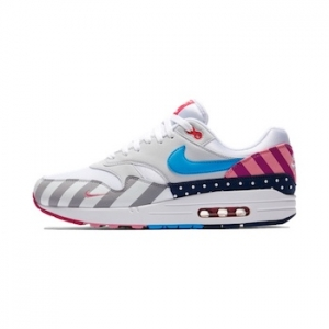 on sale cf684 e310a Nike x Parra Air Max 1. White Multi Color