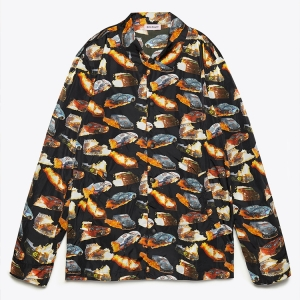 The PALM ANGELS BURNING CARS COACH JACKET gets lit like a sartorial fire emoji. Click the pic to shop.
