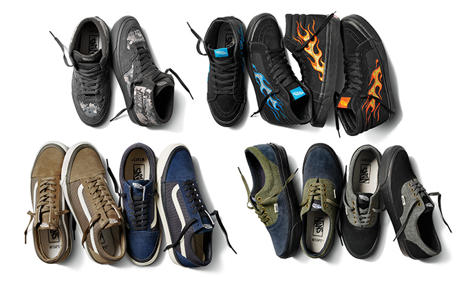 Pinstriping and Military Styling with the Vans Vault x WTAPS 2018 ... d909b9ad4a