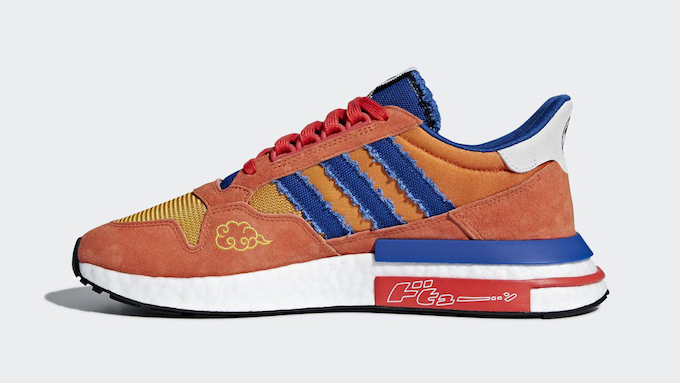 best sneakers bc1ea c8276 Go Super Saiyan with the adidas x Dragonball Z ZX500 Boost ...