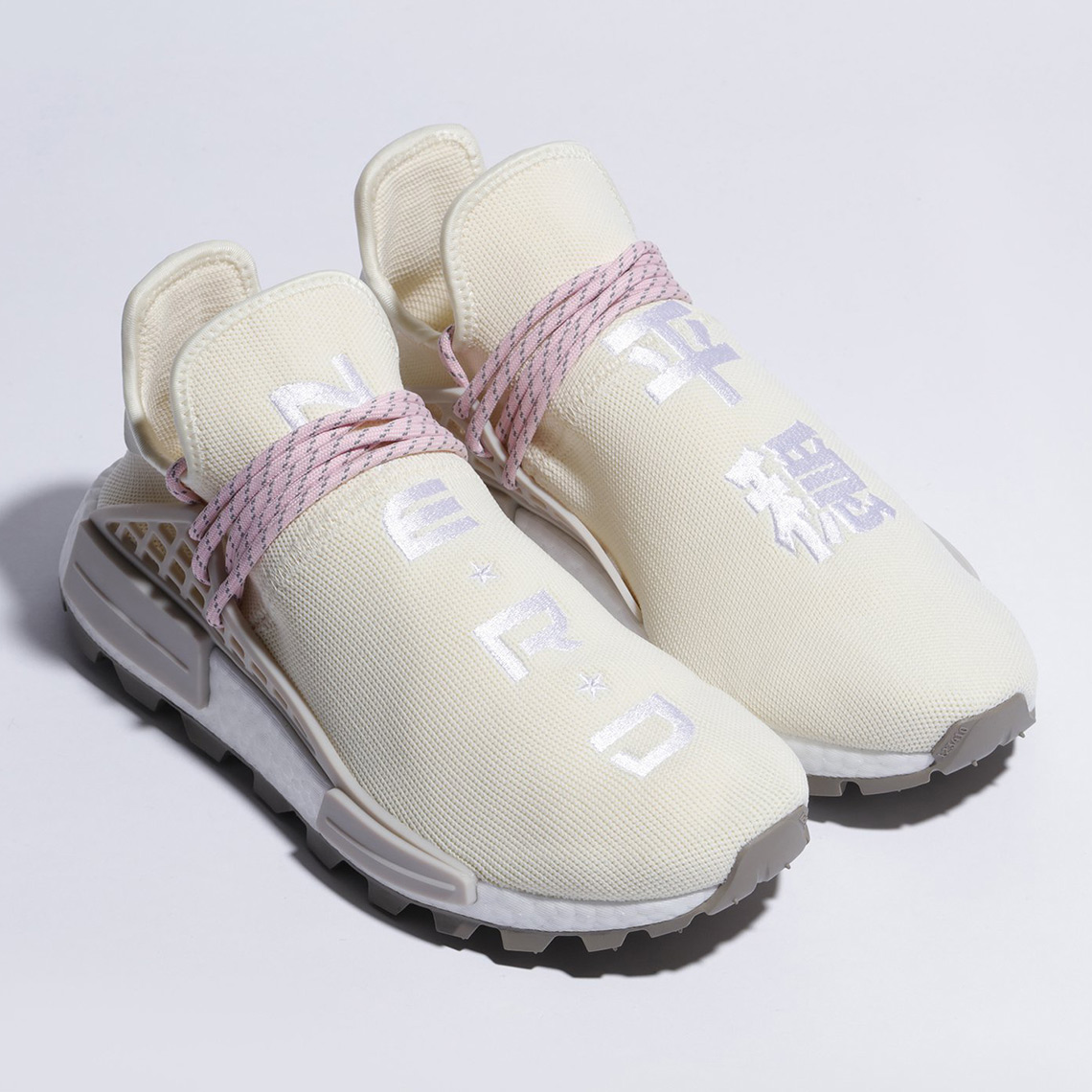 various colors 589a7 51870 Pharrell Goes 3-Up with Another Take On The adidas NMD Hu ...