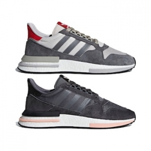 outlet store 18e67 e23f5 adidas ZX 500 RM. GREY FOUR F17 ftwr white scarlet ...