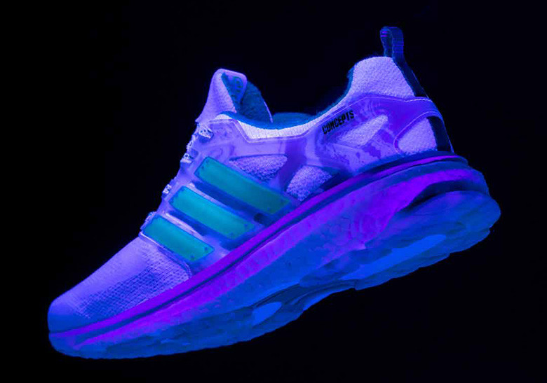 innovative design aa6cd 5b5f9 concepts adidas 3. adidas winds down and prepares for relaxation with the  ADIDAS x CONCEPTS ENERGY BOOST SHIATSU.