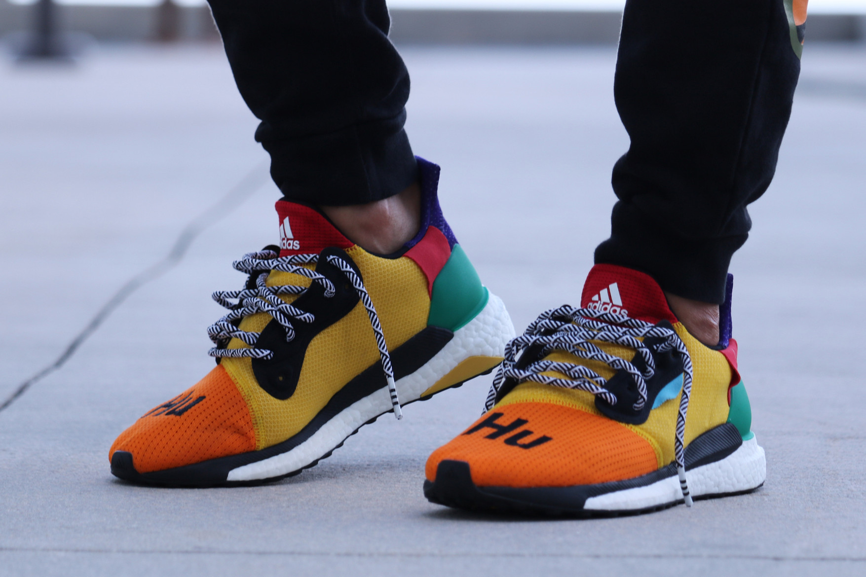 cf350a3bf The PHARRELL x ADIDAS SOLAR HU GLIDE ST is yet to receive an official  release date