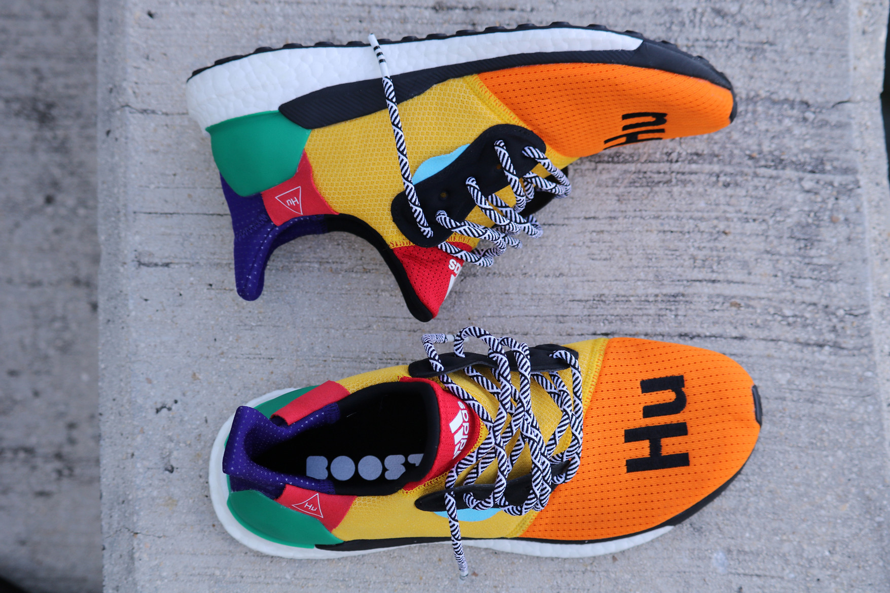 c169b5305 Skateboard P and adidas show no signs of slowing down their collaborative  efforts with the new PHARRELL x ADIDAS SOLAR HU GLIDE ST.