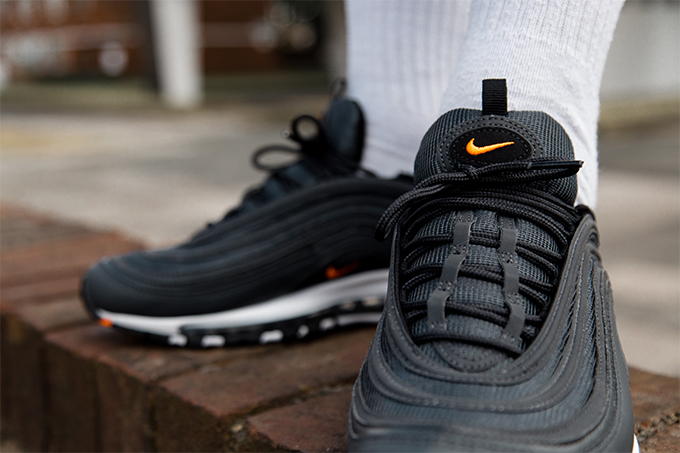 air max 97 anthracite-total orange-black