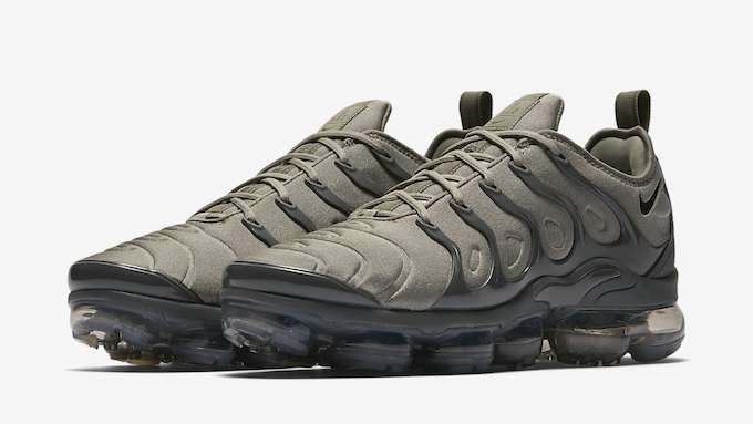 the best attitude a1056 ecad3 Earth Tone Takeover with the Nike Air VaporMax Plus Olive ...