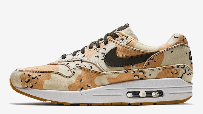 Nike Air Max 1 Premium Beach Camo: On Foot by OVERKILL The