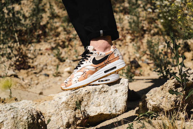 afe89f872c Nike Air Max 1 Premium Beach Camo: On-Foot by OVERKILL - The Drop Date
