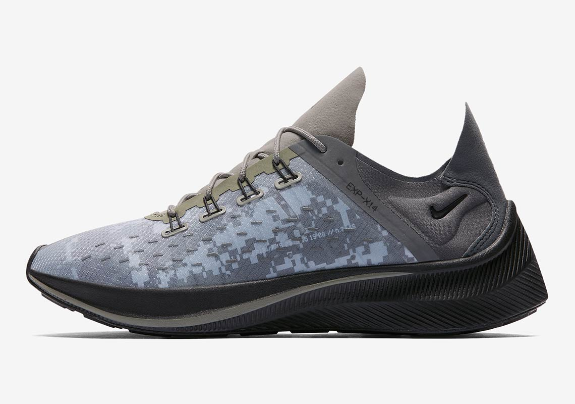 The Nike EXP-X14 Dark Stucco Channels Some Serious