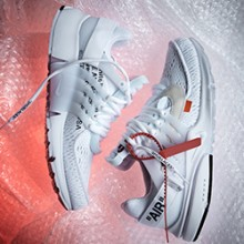 reputable site 984c5 5f9ca A Closer Look at the Nike x Off-White Air Presto White