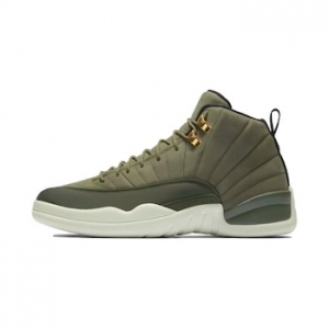 c4797c1a8a8c6f Nike Air Jordan 12 - Olive Canvas - AVAILABLE NOW - The Drop Date