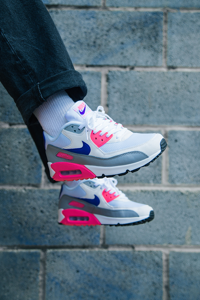 Nike Air Max 90 Wmns Court Purple On Foot Shots The Drop Date