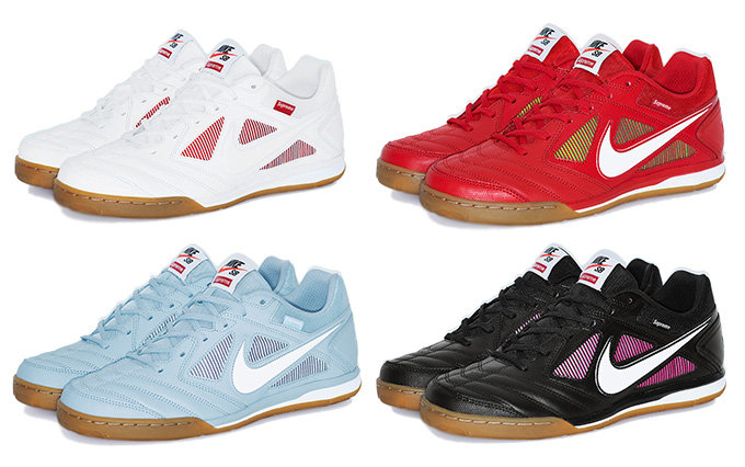 272fc8f3599 Soccer Meets Skate with the Supreme x Nike SB Gato - The Drop Date