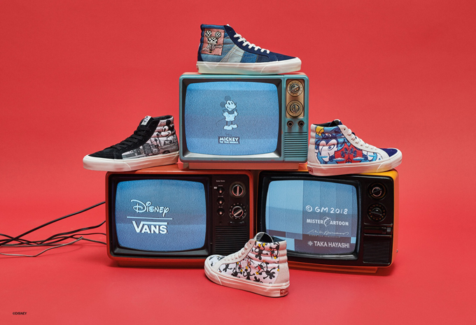 956e7cd60e Celebrate 90 years of Mickey Mouse s loveable nature with the VANS VAULT X  DISNEY OG SK8-HI LX.
