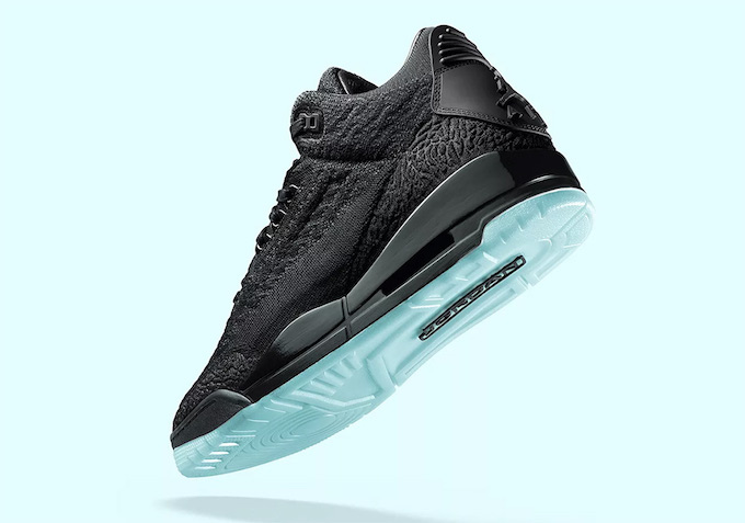 Nike Air Jordan 3 Flyknit Black