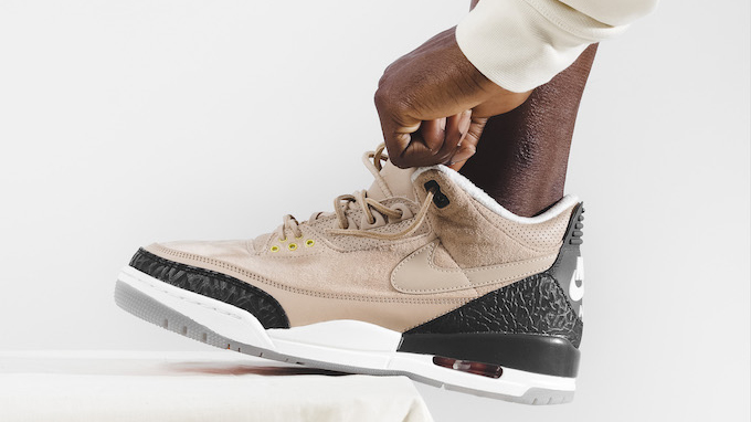 online retailer 5b31c 92052 Nike Air Jordan 3 JTH Bio Beige: On-Foot by BSTN - The Drop Date