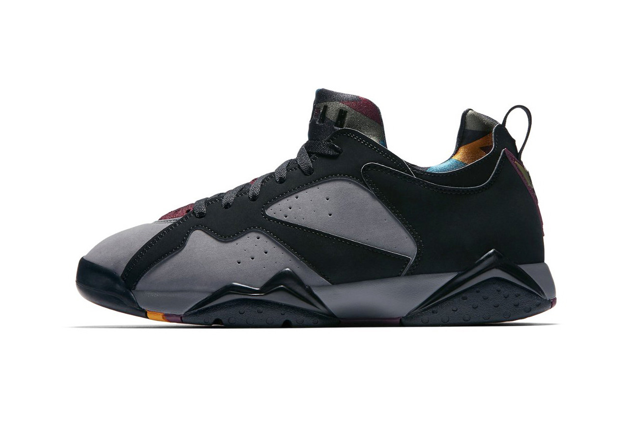 new style a60be cbe1b Drop the Top with the Nike Air Jordan 7 Low Bordeaux - The ...