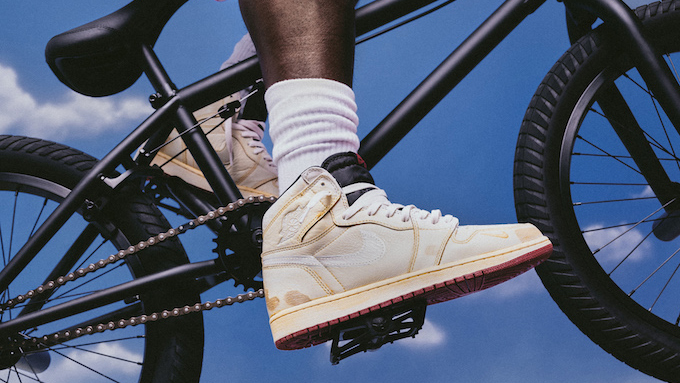 uk availability 54e3b 6ef75 Nike Air Jordan 1 Hi OG Nigel Sylvester: On-foot by BSTN ...
