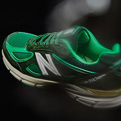 quality design a2dac b3b81 Available Now  mita sneakers x New Balance 990v4 Bouncing Frog