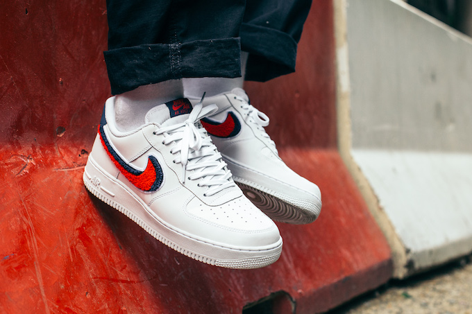 Nike Air Force 1 Low 07 Lv8 On Foot Shots The Drop Date