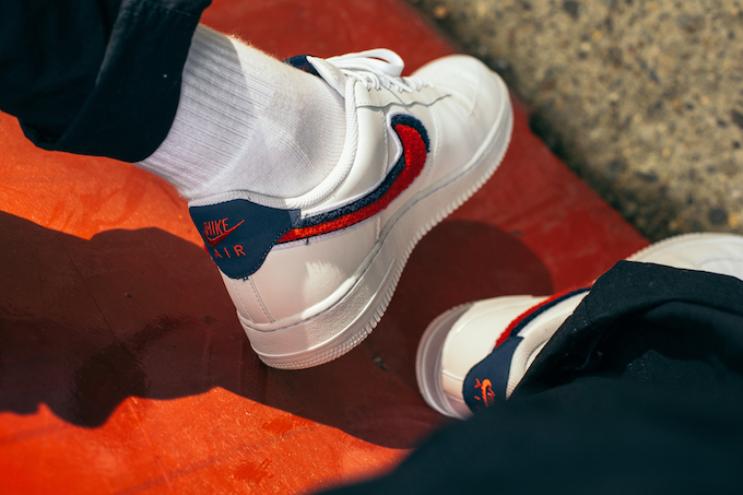 Nike Air Force 1 Low 07 LV8: On Foot Shots The Drop Date