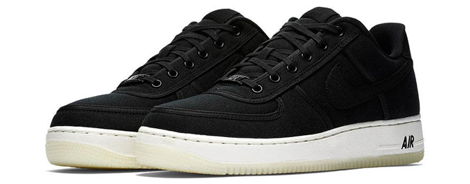The Nike Air Force 1 Low Retro Qs Canvas Gets Three Tonal