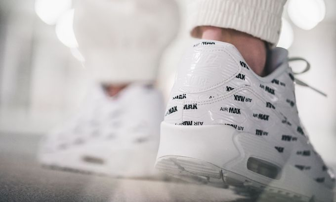 Nike Air Max 90 Premium Logo On Foot By 43einhalb The Drop Date