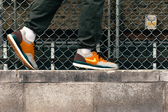 purchase cheap 6b657 0baf2 Mirroring the infamous atmos colourway from 16 years ago, we captured the NIKE  AIR SAFARI SE as part of our on-foot series.