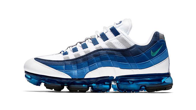 best service 4d800 547a3 The Nike Air VaporMax 95 French Blue is Here - The Drop Date