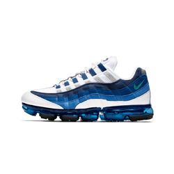 nike air vapormax 95 slate blue white