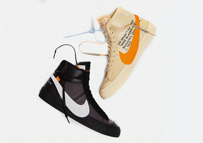 Lingüística apilar laberinto  Get Spooked with the Off-White x Nike Blazer Spooky Pack - The Drop Date