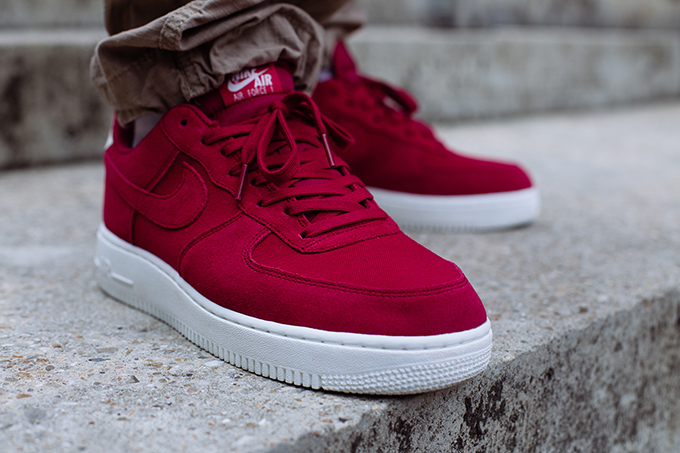 Suede 07 Foot Air The 1 Date Red Nike CrushOn Shots Drop Force XPZiOku