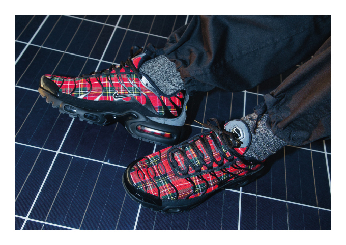 Nike Air Max Plus Tn Se Tartan On Foot Shots The Drop Date