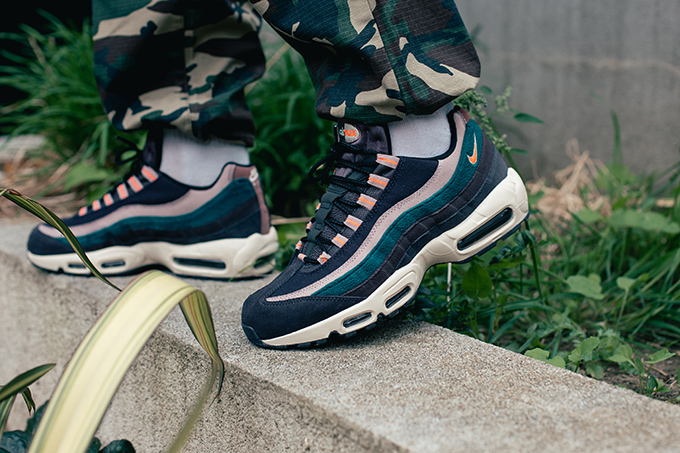top brands sneakers for cheap excellent quality Nike Air Max 95 Premium: On-Foot Shots