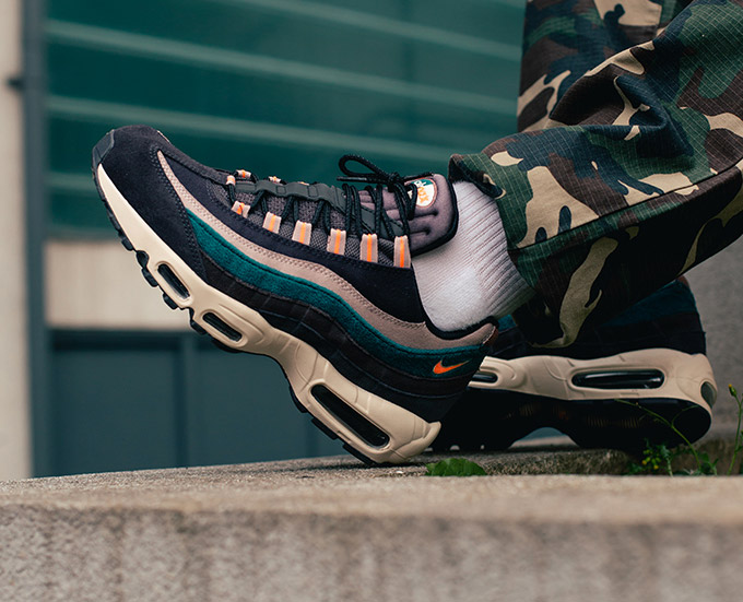 The NIKE AIR MAX 95 PREMIUM is AVAILABLE NOW in a selection of colourways.  Click the banner below to get your pairs at NIKE before they re gone. 1f0bfb9c3