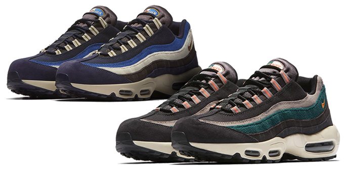 Available Now: the Nike Air Max 95 Premium Lands in Autumnal