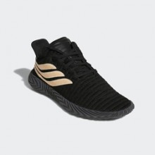 bf65210bad9a Subtle Style  the adidas Sobakov Black and Clear Orange