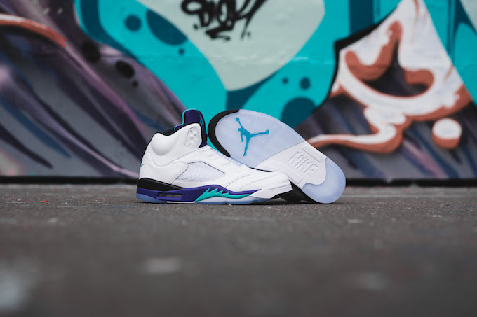 the latest d5a41 25289 A Closer Look at the Nike Air Jordan 5 Retro NRG Fresh ...