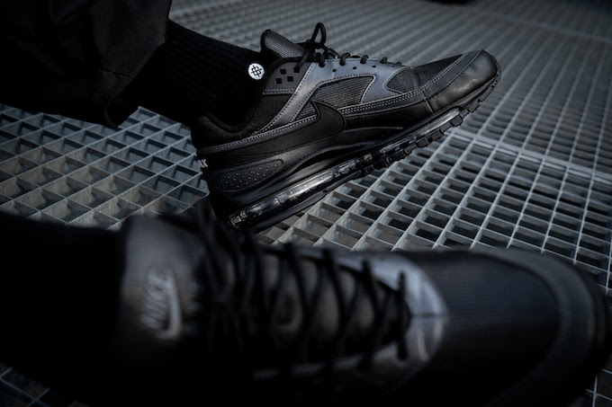 innovative design bb046 d249e ... aliexpress the nike air max 97 bw in both triple black and metallic  persian are captured