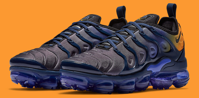 4eed6584d2f97 Big Apple Vibes with the Nike Air VaporMax Plus in Blue and Orange ...