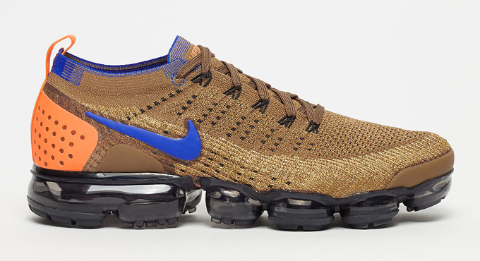 31c2aefc4e1 Go for Gold with the Nike Air VaporMax Flyknit 2 Golden Beige - The ...