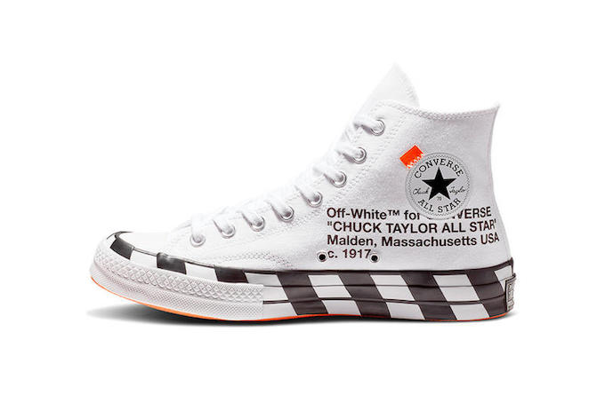 official photos 36a78 2ba44 Converse X Off-White Chuck 70
