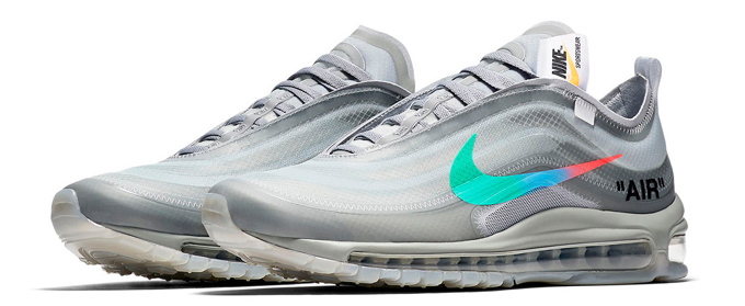 on sale dcf02 f4a4e Dropping This Week: Nike x Virgil Abloh 'The Ten' Air Max 97 ...
