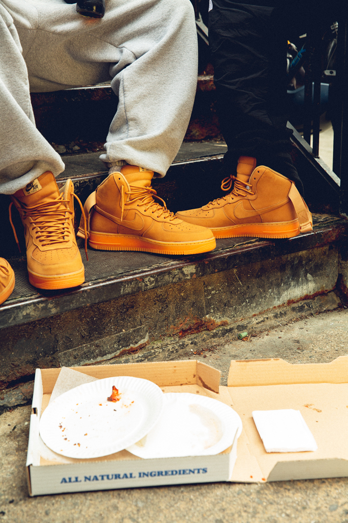 Nike Air Force 1 High 07 Lv8 Wb Wheat On Foot By Sns The Drop Date