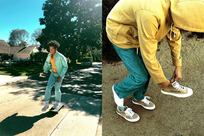 Converse x Golf Le Fleur One Star: On Foot Shots The Drop Date