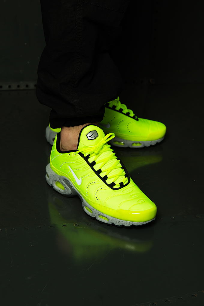 3fbd0e94e4f The NIKE AIR MAX PLUS PREMIUM VOLT is AVAILABLE NOW  hit the banner below  to pick up a pair today.