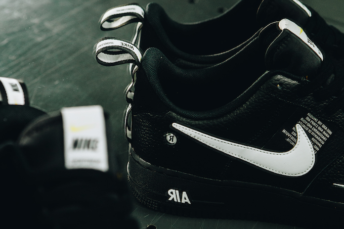 the latest 12577 17308 The NIKE AIR FORCE 1 07 LV8 UTILITY BLACK is due to release on THURSDAY 1  NOVEMBER  hit the banner below to pick up a pair when they land.