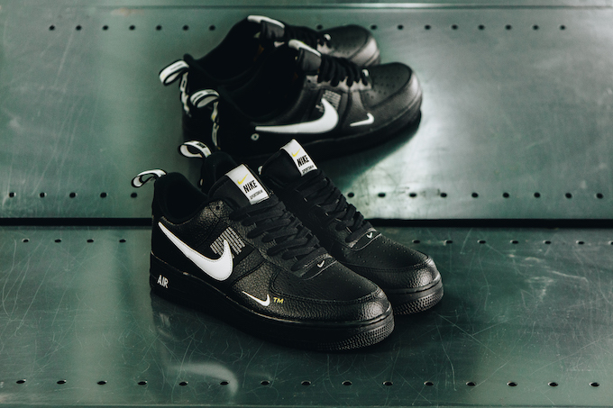 size 40 91c87 5db60 A Closer Look at the Nike Air Force 1 07 LV8 Utility Black